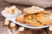 Macadamia Cookies With White Chocolate