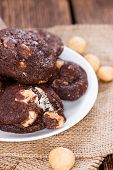 Macadamia Chocolate Cookies