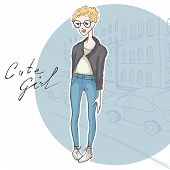 Modest Girl, Hipster Style