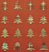 Fabric Christmas trees background