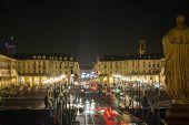 Vittorio Square by night, Turin