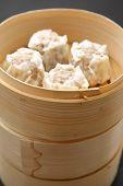 steamed meat dumplings
