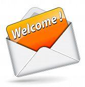 Orange Welcome Message