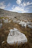 Ruins At Perga In Turkey