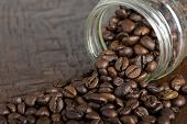 Jar With Coffee Beans