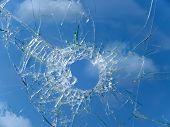Glass  Broken  Automobile  Cracks  Ho