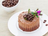 Raw Vegan Coffee Tart