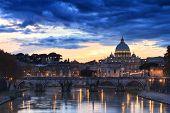 Saint Peter Under Dark Clouds