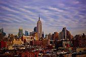 image of rockefeller  - New York Skyline taken in Chelsea Market - JPG