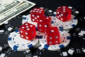 Gambling dices for Casinò games
