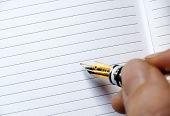 Writing or Signing