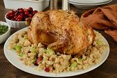 Roasted Chicken And Stuffing