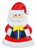 Santa Claus Made Of Polymer Clay