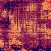 Old background with delicate abstract texture. With different color patterns: purple (violet); orange; brown; pink