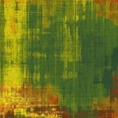 Old ancient texture, may be used as abstract grunge background. With different color patterns: orange; brown; yellow; green
