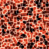 Abstract Seamless Red Pattern