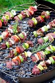 picture of barbecue grill  - Summer barbecue - JPG