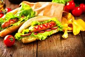 image of hot dog  - Hot dog - JPG