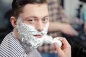 pic of shaving  - Shaving cream - JPG