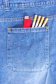 Smoker's pocket