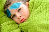 picture of sick  - Sick child - JPG