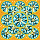 Zick-Zack Spin Festplatten (Motion Illusion)