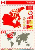 picture of nationalism  - vector Canada illustration country nation national culture - JPG