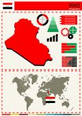 pic of nationalism  - vector iraq illustration country nation national culture - JPG
