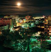 Reno Nevada com lua