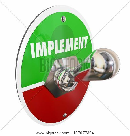 Implement Toggle Switch Execute Plan