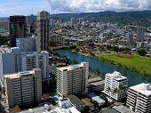 Waikiki skyscrapers