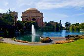 Palace of fine Arts in San Francisco California