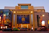 Kodak Theater in Hollywood at night