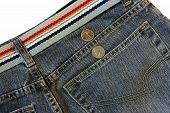 Jeans With Coins