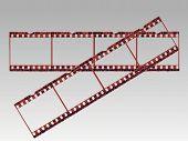 Transparent Film Strips In Vector Format