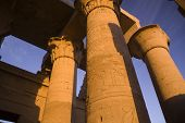 The Amazing Pillars Of Kom Ombo Temple, Egypt
