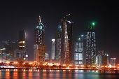 Doha Qatar - Night scene