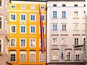 Local de nascimento de Mozart em Salzburgo, na Áustria