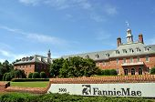 WASHINGTON-MAY 23: Fannie Mae's mortgage portfolio shrank at 19% annual rate in April. Headquartered