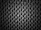Black white mesh metal structure shaded on corners. More on my profile