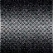 Dirty cellular metal surface close up