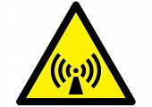 Non Ionizing Radiation Hazard Symbol