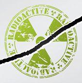 Cracked Radioactive Seal