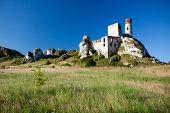 Old Castle Ruins Near Czestochowa