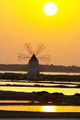 Windmill At Marsala