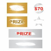 Scratch Card Game, Scratch And Win Lottery. Lottery Winning Ticket And Scratch Cards poster