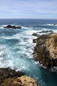 Cliffs On The California Coastline