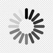 Loading Icon. Load Icon. Wait For A Wait. Please Wait. Vector poster