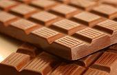 Bars Of Chunky Chocolate