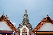 Wat Arun Temple Of Dawn In Bangkok